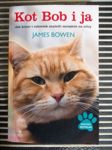 KOT BOB I JA, James Bowen