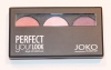 Cień trio Joko Perfect your look,301 satin nr,serii 036, ACH